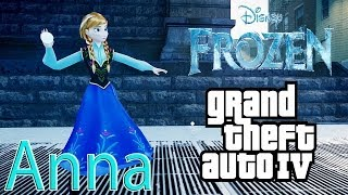 GTA IV: ANNA - PRINCESS OF ARENDELLE (FROZEN)