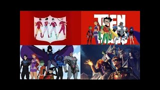 Teen Titans / Young Justice - Evolution in Cartoons & Series