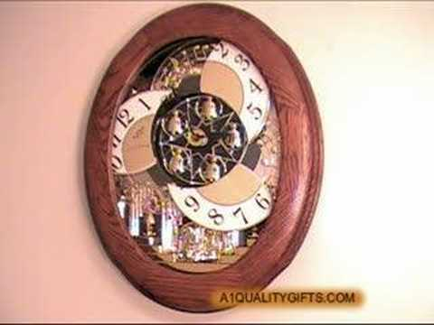 NOSTALGIA RHYTHM CLOCK SMALL WORLD CLOCKS MAGIC MOTION