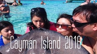 Grand Cayman Island || Stingray City and Barrier Reef snorkel 2016