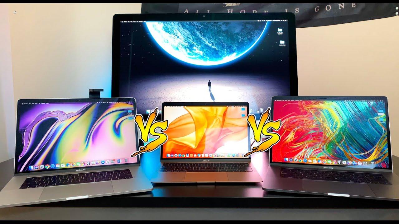 Mac Speed Test - MacBook Air vs iMac vs 2018, 2019 MacBook ...