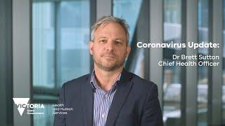Coronavirus: Victoria's Chief Health Officer Dr. Brett Sutton