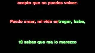 JoJo - Acepto Que No Puedes Volver (Too Little Too Late Spanish Version) Lyrics Karaoke Style