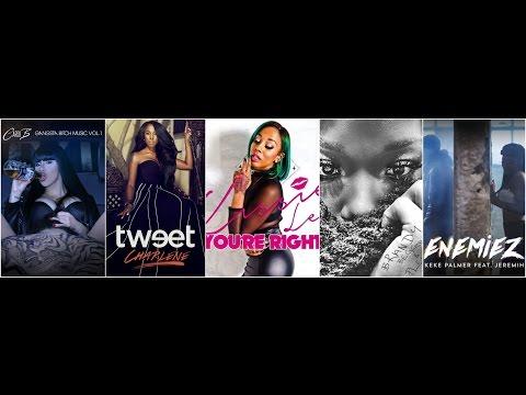 NEW Music Review Tweet, Kissie Lee, Brandy, Cardi B & Keke Palmer (Albums & Singles)