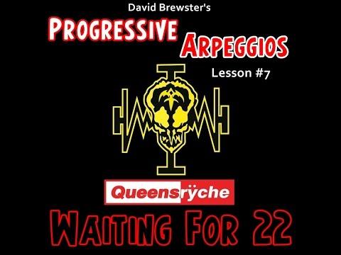 progressive arpeggios - queensryche 'waiting for 22' (lesson #7)