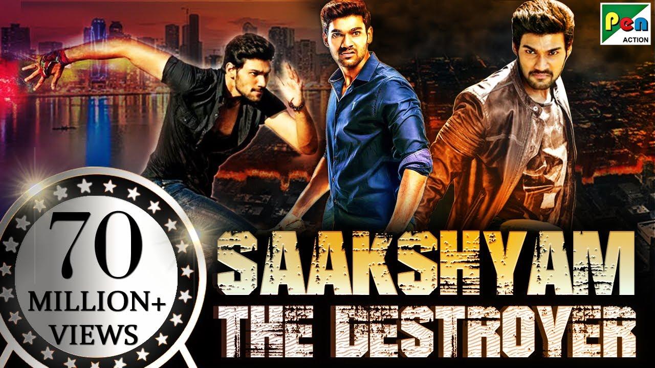 Download Saakshyam - The Destroyer (2020) New Released Hindi Dubbed Movie | Bellamkonda Sreenivas, Samantha