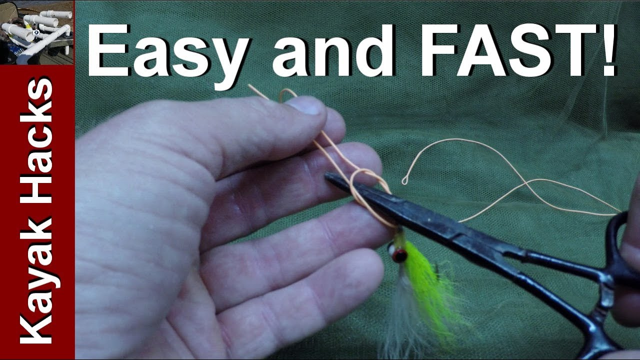 Fishing Knots With Forceps  Tie Easy Kreh Loop Fishing Knot