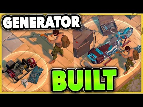 GENERATOR = DONE! CHOPPER TIME! Last Day on Earth Survival