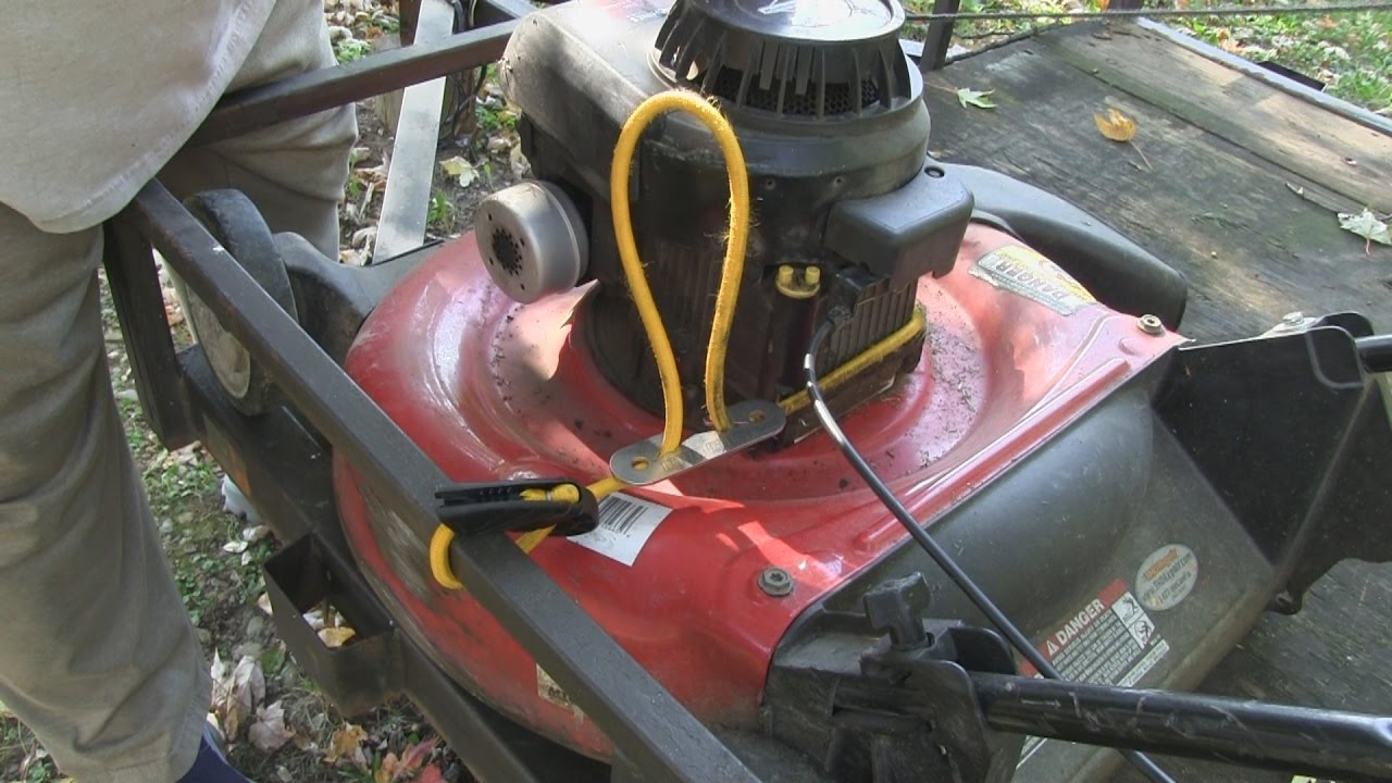 The Cord Claw How To Secure Lawn Mower To Trailer Youtube