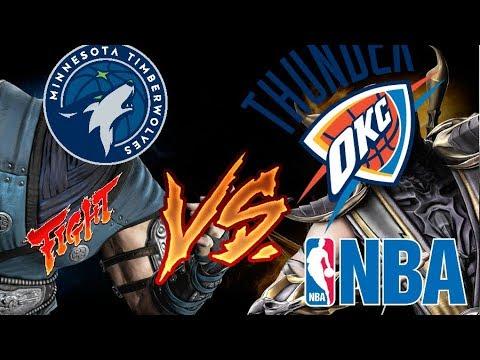 NBA Team VS Ep. 1 | Oklahoma City Thunder VS Minnesota Timberwolves