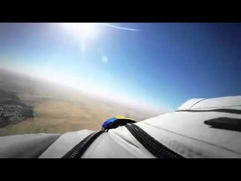 Wingsuit Flying Over Pyramids  Red Bull Leap of Wonder