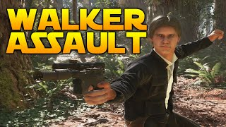 Star Wars Battlefront: ENDOR WALKER ASSAULT WITH HAN SOLO
