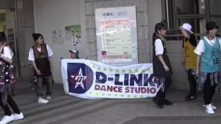 2014年5月11日に行われたとことこタワーまつりにD-Link Dance Studioで...