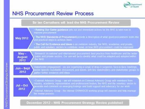 SEHTA NHS Procurement Strategy Review