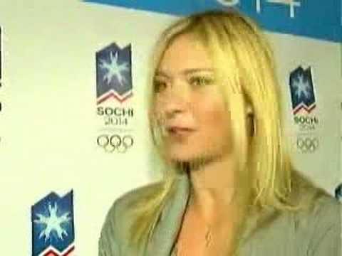 Sharapova backs Russian Olympic bid