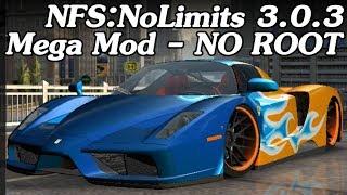 NFS: No Limits 3.0.3 - Mega Mod - No Root!! - Data + OBB