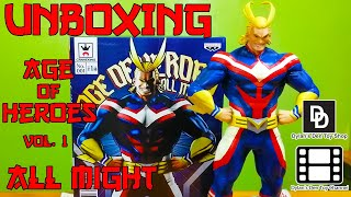 Unboxing All Might - Age of Heroes vol.1 - Banpresto Licensed Prize Figure HD