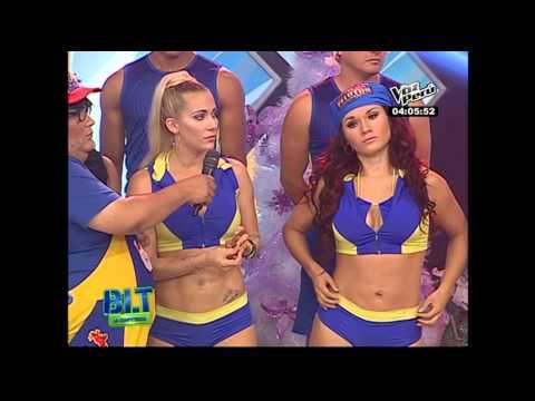 BLTC: Laura Huarcayo detiene baile por actitud de Génesis Tapia thumbnail