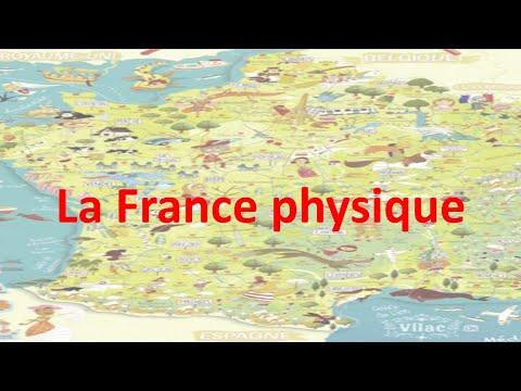 Géo géo  la France physique