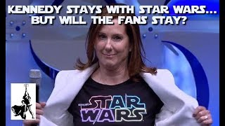 Fan's vote of no confidence ignored; Kennedy remains in power at Lucasfilm