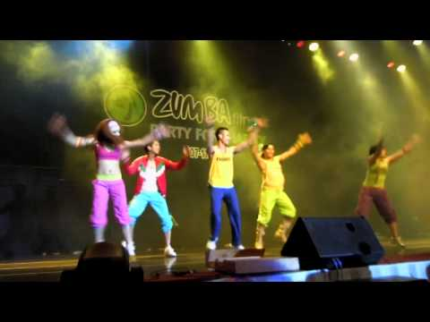 Zumba Fitness Party for Charity Kuala Lumpur Part 1