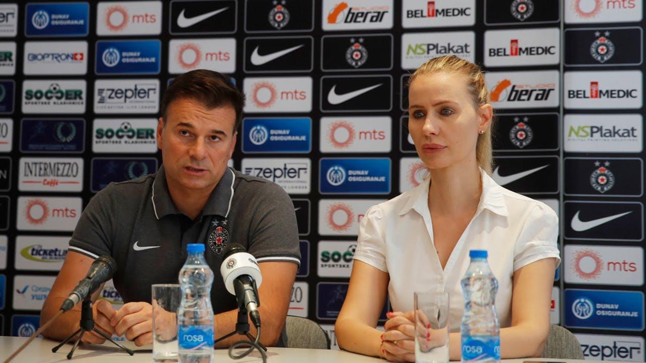 Download Konferencija za medije pred utakmicu 11. kola Linglong Tire SLS FK Partizan - FK Spartak