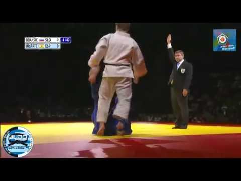 ECCO Judo Hero Challenge Tyumen 2012 Final -66kg DRAKSIC Rok (SLO) - URIARTE Sugoi (ESP)