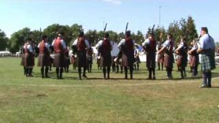 Vale of Atholl Pipe Band at Scottish Pipe Band Championships 2010