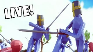 LIVE BATTLES! - Totally Accurate Battle Simulator (TABS Open Alpha) Live [Ended]