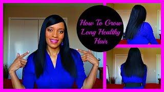 How to Grow Long Healthy Relaxed Hair: Relaxed Hair Care Tips