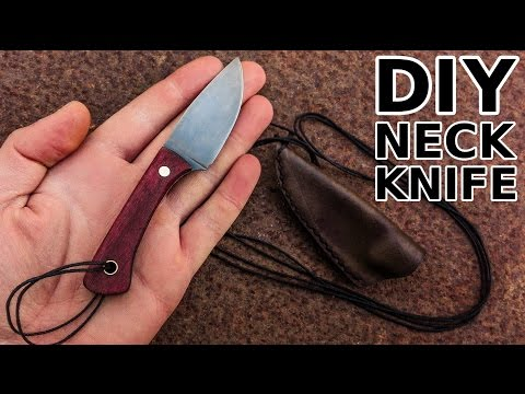 Knife Making: Neck Knife