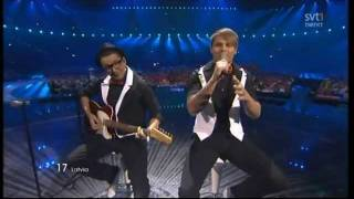 "Musiqq ""Angel in Disguise""  2011 Eurovision LATVIA (II SEMI-FINAL)"