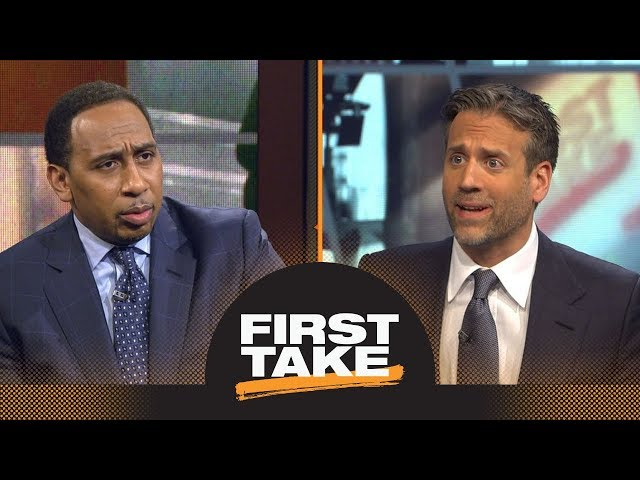 Stephen A. and Max debate Rockets' chances to beat Warriors in NBA playoffs | First Take | ESPN