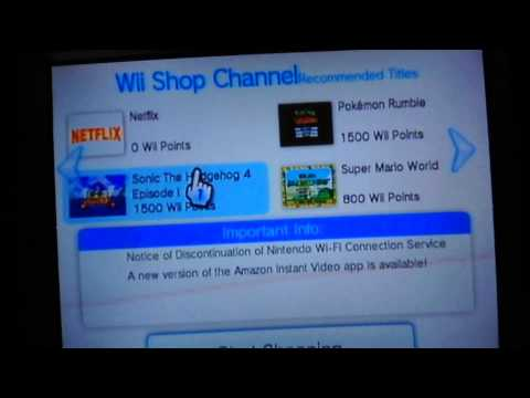 How to download YouTube onto your wii.