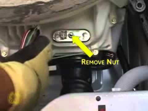Ge Front Load Washer Heater And Thermistor Servicing Youtube