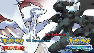 Repeat youtube video Pokemon Omega Ruby/Alpha Sapphire - Battle! Reshiram/Zekrom Music (HQ)
