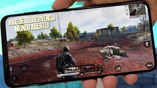 SAIU! NOVO JOGO de SOBREVIVÊNCIA em MUNDO ABERTO para Android e IOS - Badlanders