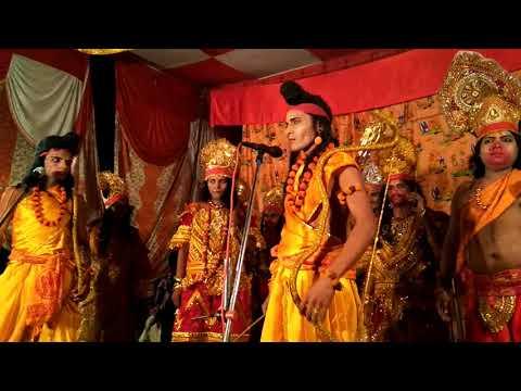 संजीवनी बूटी पिलाते समय सुसैन वैद 2017 अवध राम लीला कल्ब