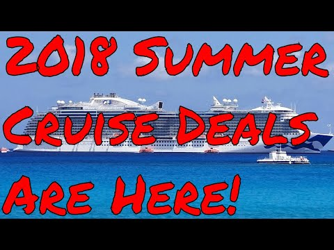 5pm et Bruce is Live! Lets Go On a Summer Cruise! Deals Alaska Baltic Iceland Scotland Panama Canal