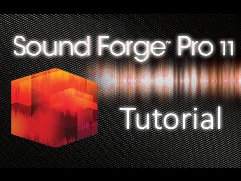 Sound Forge Pro 11 - Tutorial for Beginners [+ General Overview]