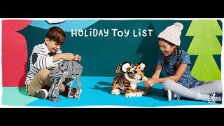 Amazon Holiday Toy List 2017