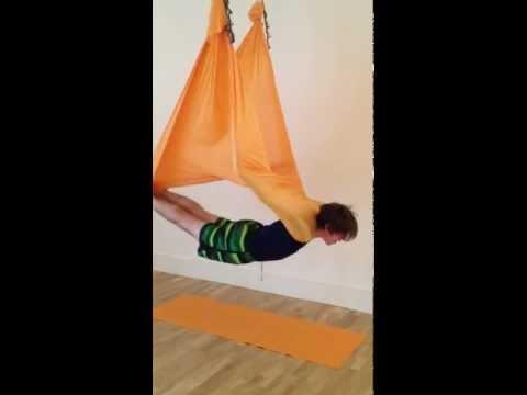 AntiGravity Yoga | Vampire Pose