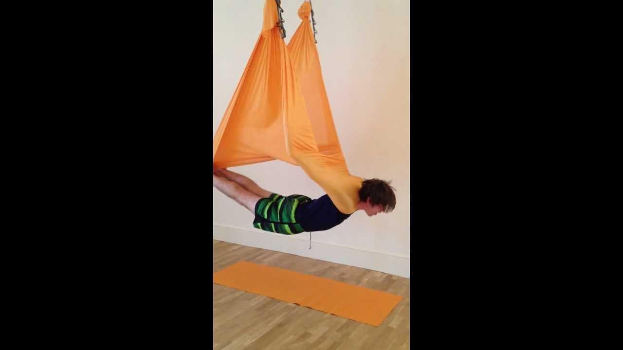 Antigravity Yoga Vampire Pose Youtube