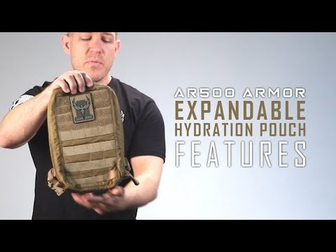 How to wear your Expandable Hydration Pouch  | GEN I AR500 Armor