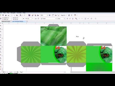 Tutorial Membuat Design Packaging/Kemasan dengan Corel ...