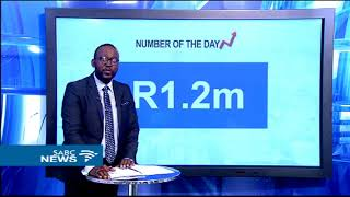 Biz number of the day is R1,2 million