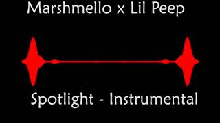 Marshmello x Lil Peep - Spotlight (Instrumental) [By RLR]