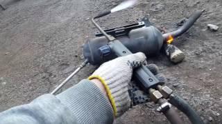 Как прочистить глушитель скутера раз и на всегда !