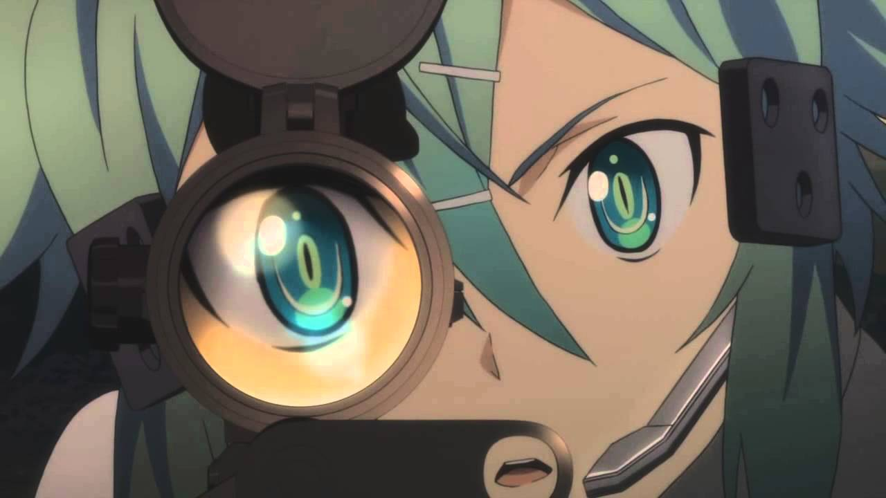 Anime Sniper Girl Wallpaper Hd Amv Sinon Sword Art Online 2 War Of Change 720p Hd Youtube