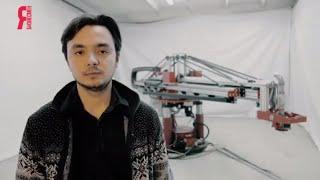 видео Строительный 3D принтер для печати домов